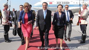 Li Keqiang in Sofia Bulgarien (picture-alliance/Photoshot/L. Weibing)