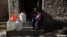 Iran Wasserknappheit in Mazandaran