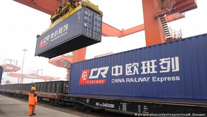 China Railway Express containers