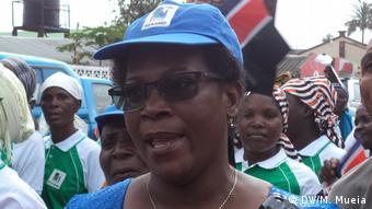 Mosambik 38. Jahrestag der RENAMO Frauenliga in Quelimane   Maria Inês Martins, Präsidentin RENAMO