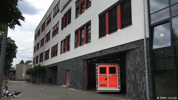 Deutschland Indonesische Krankenschwester in Köln (DW/M. Linardy)