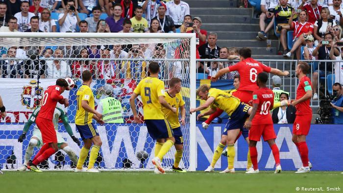 Fußball WM 2018 Schweden - England