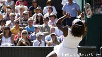 Tennis Wimbledon Serena Williams 4. Juli 2009