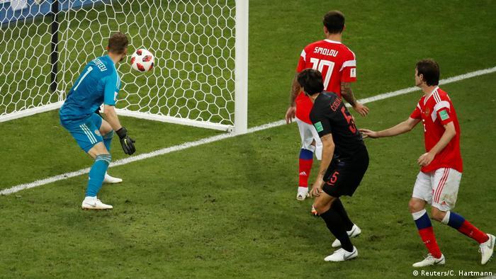 Fußball WM 2018 Russland - Kroatien (Reuters/C. Hartmann)