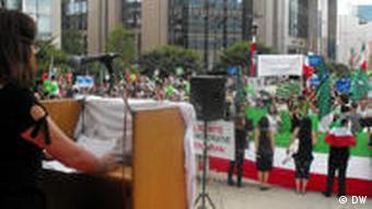 صحنهای از گردهمایی عظیم بروکسل