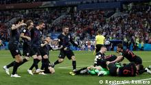 Fußball WM 2018 Russland - Kroatien