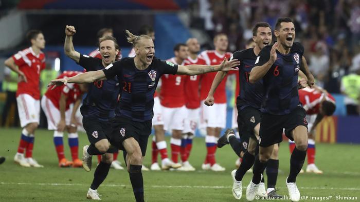 Hırvatistan, Rusya'yı penaltılarda mağlup etmeyi başardı