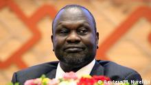 Südudan | Rebellenführer Riek Machar