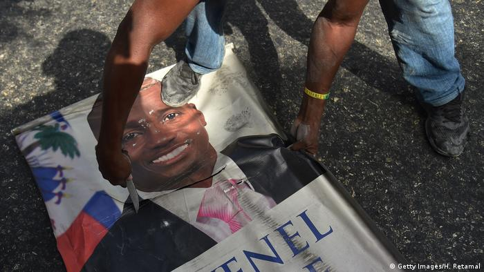 Protests in Port-au-Prince, Haiti