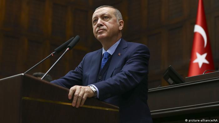 Symbolbild Recep Tayyip Erdogan Macht