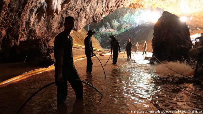 La cueva Tham Luang-Khun Nam está ubicada cerca de la frontera con Myanmar.