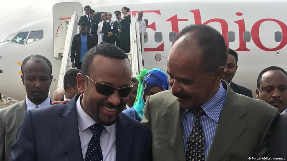 Ethiopia, Eritrea officially end war | DW | 09.07.2018