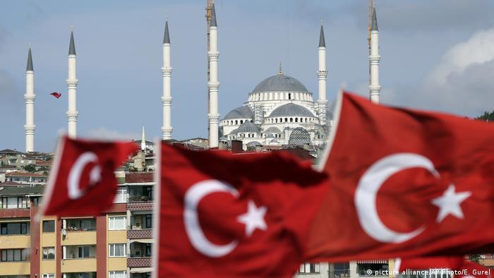 Türkei Istanbul Putschversuch Jahrestag (picture alliance/AP Photo/E. Gurel)