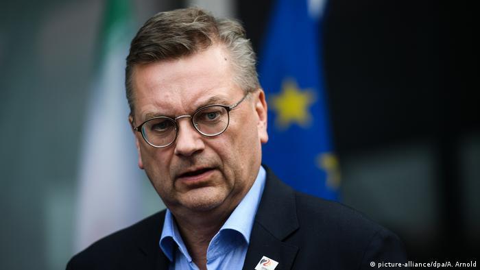 Deutschland Reinhard Grindel, DFB-Präsident (picture-alliance/dpa/A. Arnold)