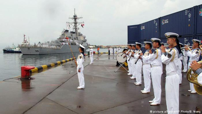 US-Zerstörer USS Benfold