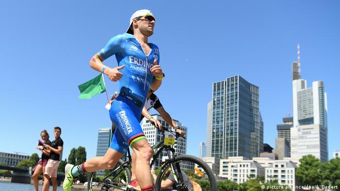 Ironman Europameisterschaft in Frankfurt Patrick Lange