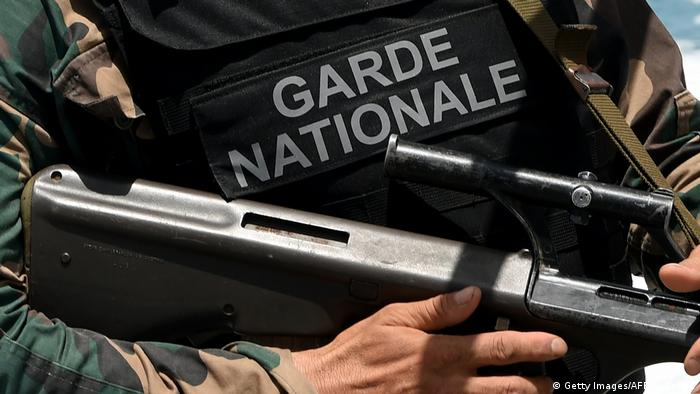 Tunesien Nationalgarde 2015 (Getty Images/AFP/F. Belaid)