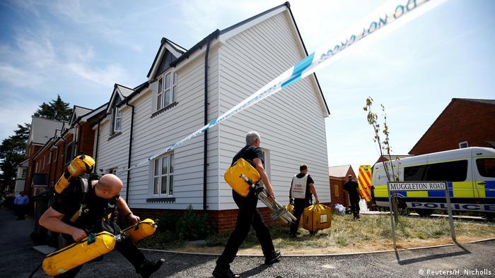 Großbritannien Nowitschok-Fall in Amesbury (Reuters/H. Nicholls)