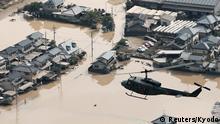 Japan Überschwemmungen