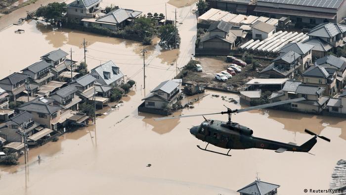 Japan Überschwemmungen (Reuters/Kyodo)