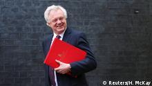 Rücktritt Brexit-Minister David Davis