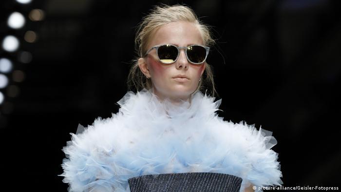 Таша Тарусова на Berlin Fashion Week
