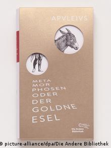 جلد کتاب آلمانی الاغ طلایی نوشته آپولیوس