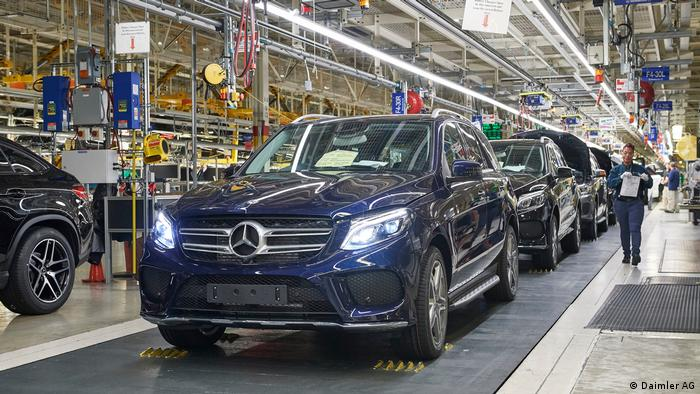 USA Mercedes-Benz Werk in Tuscaloosa/Alabama (Daimler AG)