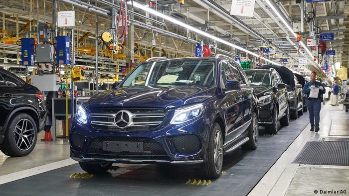 USA Mercedes-Benz Werk in Tuscaloosa/Alabama (Daimler AG)