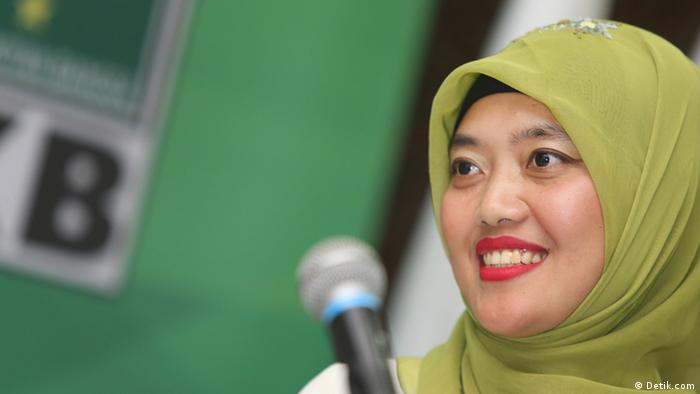 Chusnunia Chalim, Vize-Gouverneurin von Lampung (Detik.com)