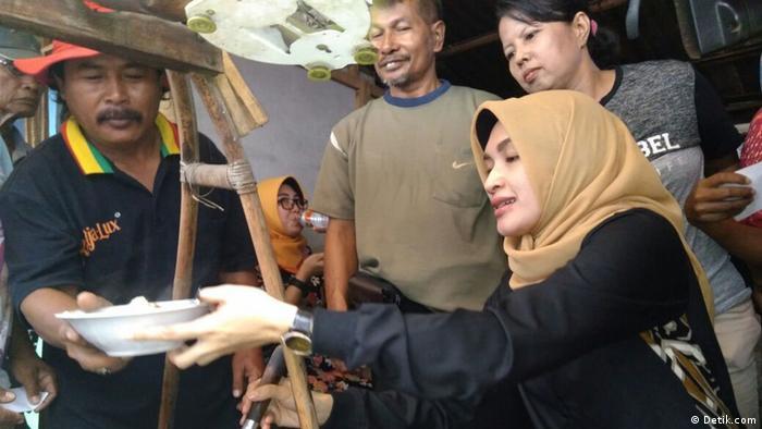 Puput Trantiana, Regentin von Probolinggo, Ost Java (Detik.com)