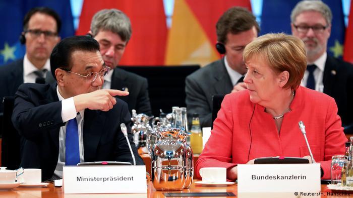 Deutschland 5. deutsch-chinesische Regierungskonsultationen (Reuters/H. Hanschke)