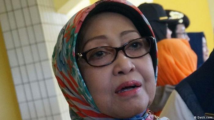 Mundjidah Wahab, Regentin von Jombang (Detik.com)