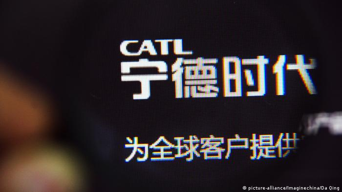 CATL, a Chinese firm, will build an EV lithium ion battery cell factory in Thuringia (picture-alliance/Imaginechina/Da Qing)
