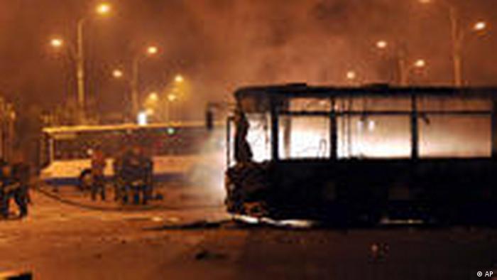 Unruhen in der chinesischen Xinjiang-Region