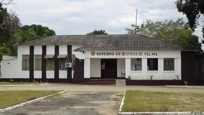 Praca 25 de Setembro, Palma in Cabo Delgado, Mosambik (privat)