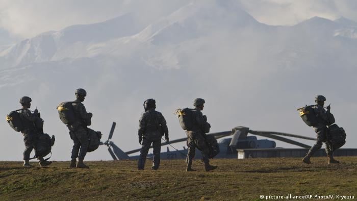 Američki vojnici u bazi Bondstil na Kosovu