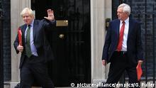 London Boris Johnson und David Davis