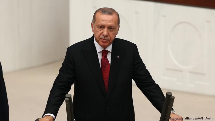 Turkish President Recep Tayyip Erdogan (picture-alliance/AA/E. Aydin)