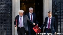London Boris Johnson und David Davis