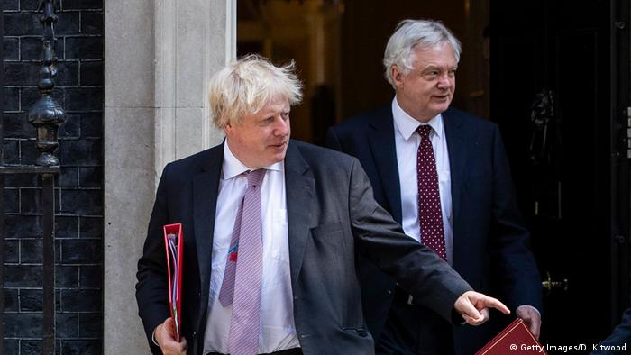 London Boris Johnson und David Davis (Getty Images/D. Kitwood)