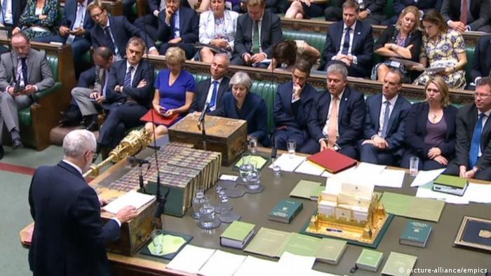 London Unterhaus berät über Brexit (picture-alliance/empics)