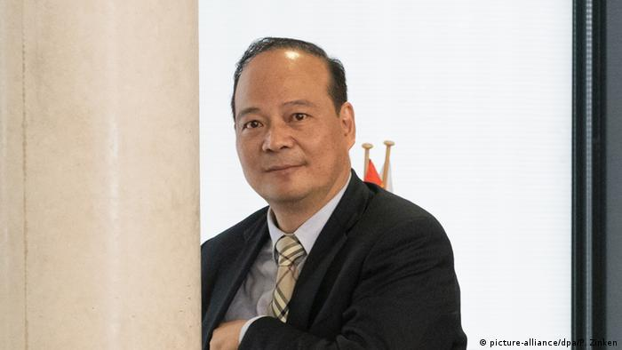 Picture of CATL chairman Robin Zeng