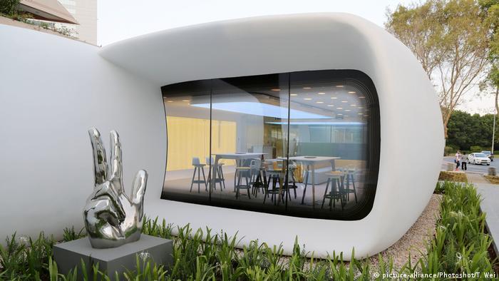 Dubai 3D Drucker Haus Architektur