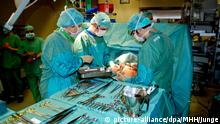 عملية زرع رئة في المستشفى الجامعي بمدينة هانوفر الألمانية (أرشيف)