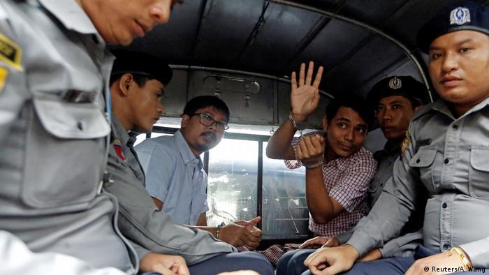 Myanmar Journalisten Reuters (Reuters/A. Wang)