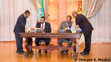 President Isaias Afwerki & Prime Minister Abiy Ahmed in Asmera