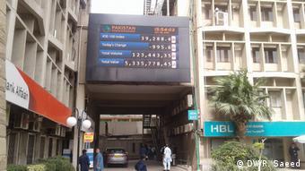 Pakistan Börse Aktivitäten