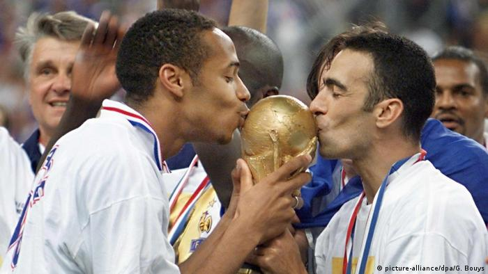 S Francuskom je Henry (lijevo) već postao svjetski prvak 1998. Hoće li i i s Belgijom?