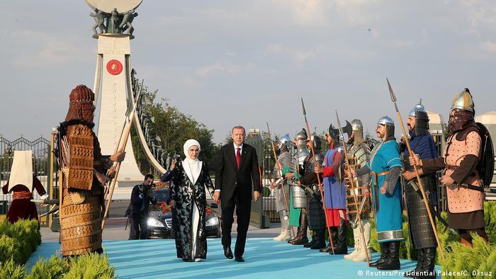 Ankara Erdogan Zeremonie Vereidigung Präsident (Reuters/Presidential Palace/C. Oksuz)